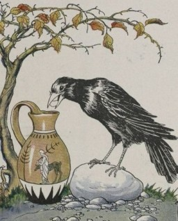 The_Crow_and_the_Pitcher_-_Project_Gutenberg_etext_19994