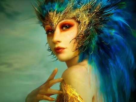 Bird-woman